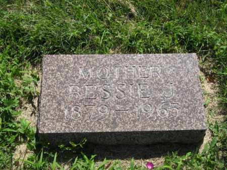 RIGGINS, BESSIE J. - Franklin County, Nebraska | BESSIE J. RIGGINS - Nebraska Gravestone Photos