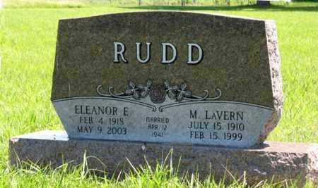 RUDD, M. LAVERN - Franklin County, Nebraska | M. LAVERN RUDD - Nebraska Gravestone Photos