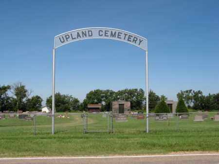 *UPLAND CEMETERY, ENTRANCE - Franklin County, Nebraska | ENTRANCE *UPLAND CEMETERY - Nebraska Gravestone Photos