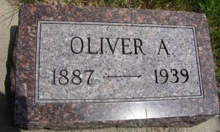 SHEFFIELD, OLIVER A. - Frontier County, Nebraska | OLIVER A. SHEFFIELD - Nebraska Gravestone Photos