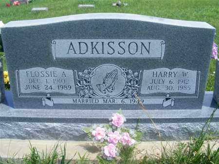 ADKISSON, HARRY W. - Frontier County, Nebraska | HARRY W. ADKISSON - Nebraska Gravestone Photos