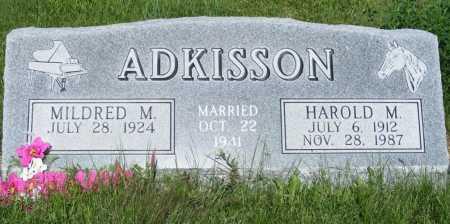 ADKISSON, MILDRED M. - Frontier County, Nebraska   MILDRED M. ADKISSON - Nebraska Gravestone Photos