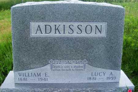 ADKISSON, WILLIAM E. - Frontier County, Nebraska | WILLIAM E. ADKISSON - Nebraska Gravestone Photos