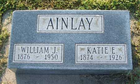 AINLAY, WILLIAM J. - Frontier County, Nebraska | WILLIAM J. AINLAY - Nebraska Gravestone Photos