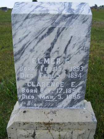 AKERS, CLARENCE E. - Frontier County, Nebraska   CLARENCE E. AKERS - Nebraska Gravestone Photos