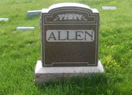 ALLEN, FAMILY - Frontier County, Nebraska | FAMILY ALLEN - Nebraska Gravestone Photos