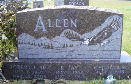 ALLEN, ROBERT J. SR. - Frontier County, Nebraska | ROBERT J. SR. ALLEN - Nebraska Gravestone Photos
