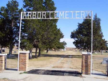 *ARBOR CEMETERY, ENTRANCE TO - Frontier County, Nebraska | ENTRANCE TO *ARBOR CEMETERY - Nebraska Gravestone Photos