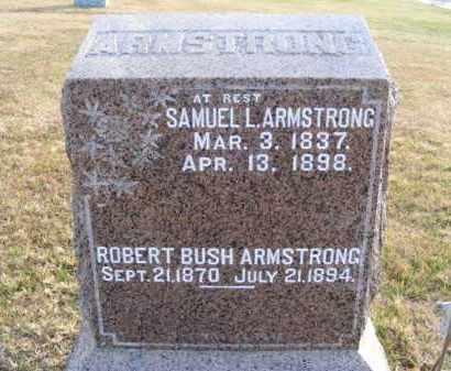 ARMSTRONG, ROBERT BUSH - Frontier County, Nebraska | ROBERT BUSH ARMSTRONG - Nebraska Gravestone Photos