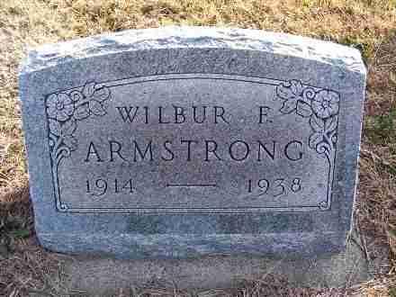 ARMSTRONG, WILBUR F. - Frontier County, Nebraska | WILBUR F. ARMSTRONG - Nebraska Gravestone Photos