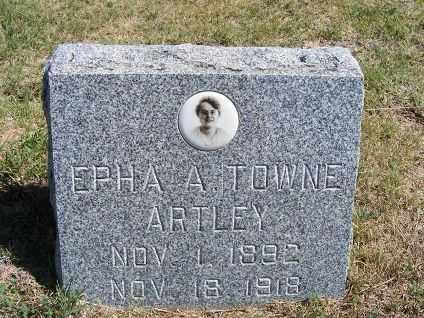 ARTLEY, EPHA A. - Frontier County, Nebraska | EPHA A. ARTLEY - Nebraska Gravestone Photos