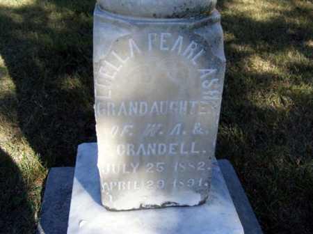 ASH, LUELLA PEARL - Frontier County, Nebraska | LUELLA PEARL ASH - Nebraska Gravestone Photos