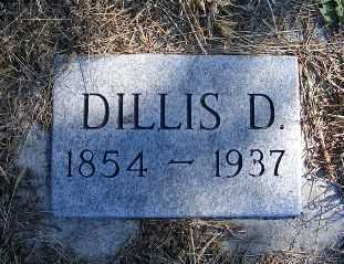 AWTRY, DILLIS D. - Frontier County, Nebraska   DILLIS D. AWTRY - Nebraska Gravestone Photos