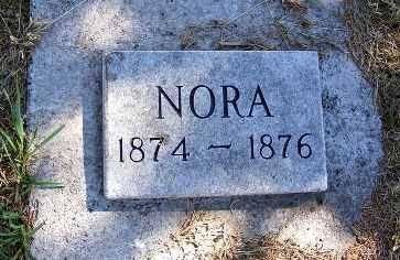 AWTRY, NORA - Frontier County, Nebraska | NORA AWTRY - Nebraska Gravestone Photos