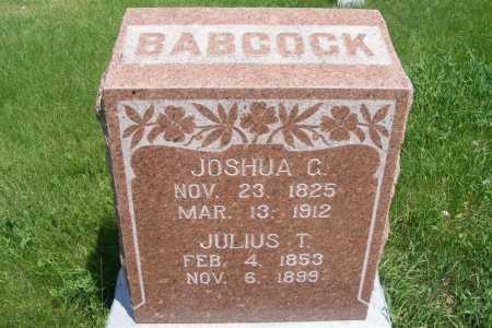 BABCOCK, JOSHUA G. - Frontier County, Nebraska | JOSHUA G. BABCOCK - Nebraska Gravestone Photos