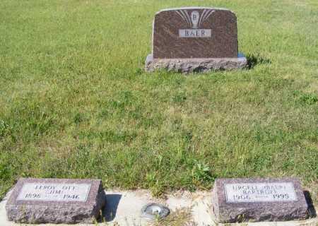 BAER, FAMILY - Frontier County, Nebraska | FAMILY BAER - Nebraska Gravestone Photos