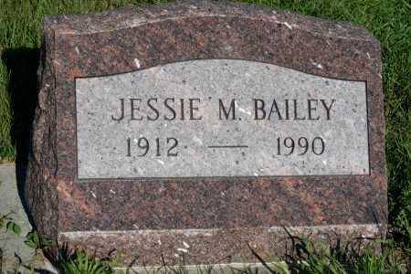 DAY BAILEY, JESSIE M. - Frontier County, Nebraska | JESSIE M. DAY BAILEY - Nebraska Gravestone Photos