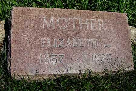 BALSER, ELIZABETH L. - Frontier County, Nebraska | ELIZABETH L. BALSER - Nebraska Gravestone Photos