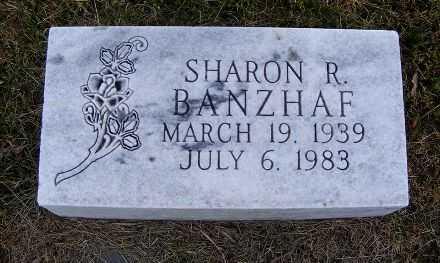 BANZHAF, SHARON R. - Frontier County, Nebraska | SHARON R. BANZHAF - Nebraska Gravestone Photos