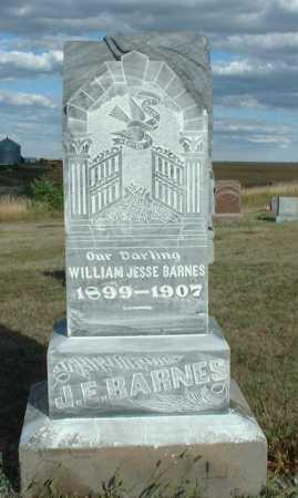BARNES, WILLIAM JESSE - Frontier County, Nebraska | WILLIAM JESSE BARNES - Nebraska Gravestone Photos