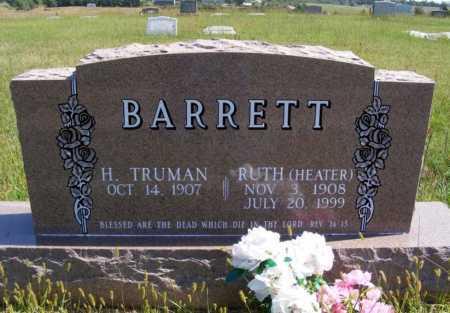 HEATER BARRETT, RUTH - Frontier County, Nebraska   RUTH HEATER BARRETT - Nebraska Gravestone Photos