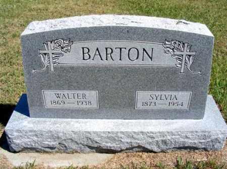 BARTON, WALTER - Frontier County, Nebraska | WALTER BARTON - Nebraska Gravestone Photos