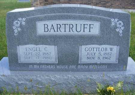 BARTRUFF, ENGEL C. - Frontier County, Nebraska | ENGEL C. BARTRUFF - Nebraska Gravestone Photos