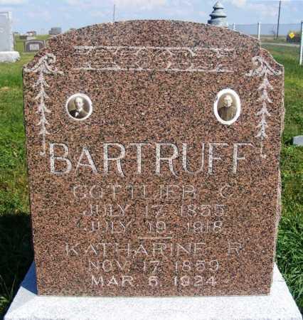 BARTRUFF, GOTTLIEB C. - Frontier County, Nebraska | GOTTLIEB C. BARTRUFF - Nebraska Gravestone Photos