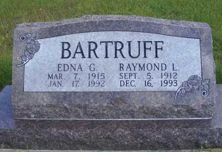 BARTRUFF, RAYMOND L. - Frontier County, Nebraska | RAYMOND L. BARTRUFF - Nebraska Gravestone Photos