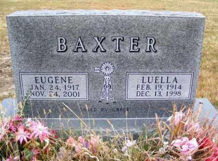 BAXTER, LUELLA - Frontier County, Nebraska | LUELLA BAXTER - Nebraska Gravestone Photos