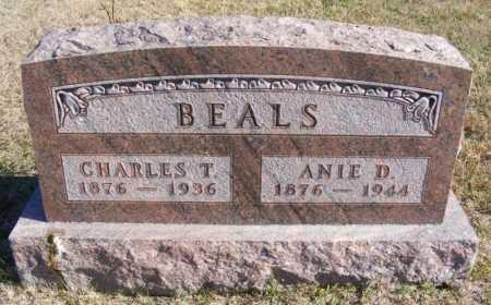 BEALS, CHARLES T. - Frontier County, Nebraska | CHARLES T. BEALS - Nebraska Gravestone Photos