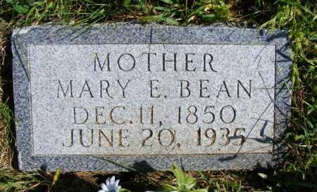BEAN, MARY E. - Frontier County, Nebraska | MARY E. BEAN - Nebraska Gravestone Photos
