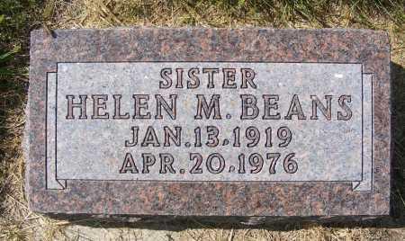 BEANS, HELEN M. - Frontier County, Nebraska | HELEN M. BEANS - Nebraska Gravestone Photos