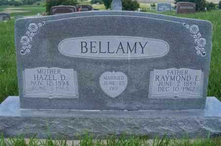 BELLAMY, HAZEL D. - Frontier County, Nebraska | HAZEL D. BELLAMY - Nebraska Gravestone Photos
