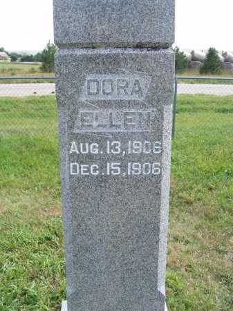 BENNETT, DORA ELLEN - Frontier County, Nebraska | DORA ELLEN BENNETT - Nebraska Gravestone Photos