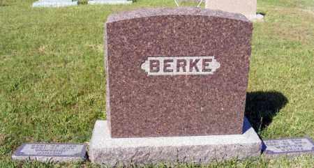 BERKE, FAMILY - Frontier County, Nebraska | FAMILY BERKE - Nebraska Gravestone Photos