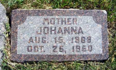 BERKE, JOHANNA - Frontier County, Nebraska | JOHANNA BERKE - Nebraska Gravestone Photos