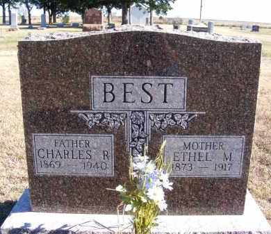BEST, CHARLES R. - Frontier County, Nebraska | CHARLES R. BEST - Nebraska Gravestone Photos