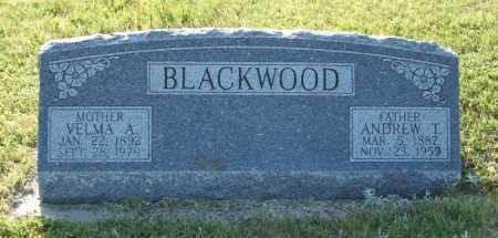 BLACKWOOD, VELMA A. - Frontier County, Nebraska | VELMA A. BLACKWOOD - Nebraska Gravestone Photos