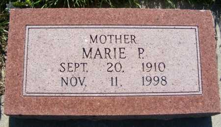 WALTHERS BLOMQUIST, MARIE P. - Frontier County, Nebraska | MARIE P. WALTHERS BLOMQUIST - Nebraska Gravestone Photos