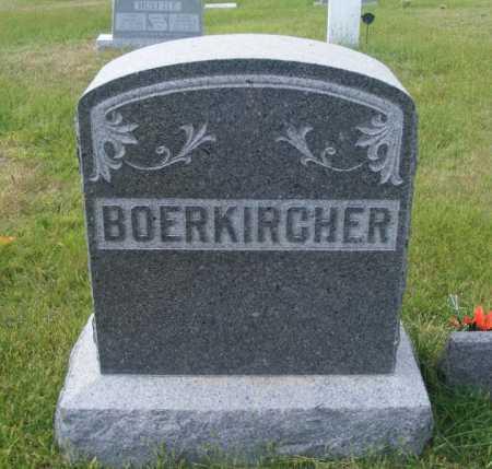 BOERKIRCHER, FAMILY - Frontier County, Nebraska | FAMILY BOERKIRCHER - Nebraska Gravestone Photos
