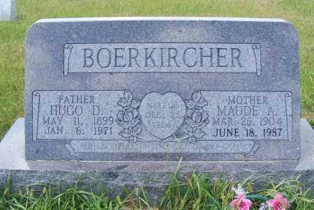 BOERKIRCHER, HUGO D. - Frontier County, Nebraska | HUGO D. BOERKIRCHER - Nebraska Gravestone Photos