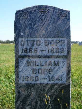 BOPP, WILLIAM - Frontier County, Nebraska | WILLIAM BOPP - Nebraska Gravestone Photos