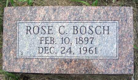BOSCH, ROSE CLARA - Frontier County, Nebraska   ROSE CLARA BOSCH - Nebraska Gravestone Photos