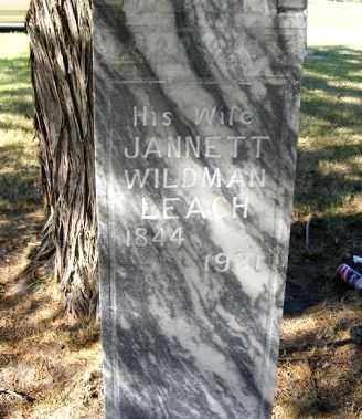 BOWLES, JANNETT WILDMAN - Frontier County, Nebraska | JANNETT WILDMAN BOWLES - Nebraska Gravestone Photos