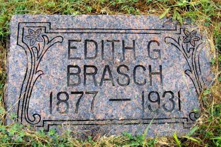 BRASCH, EDITH G. - Frontier County, Nebraska | EDITH G. BRASCH - Nebraska Gravestone Photos
