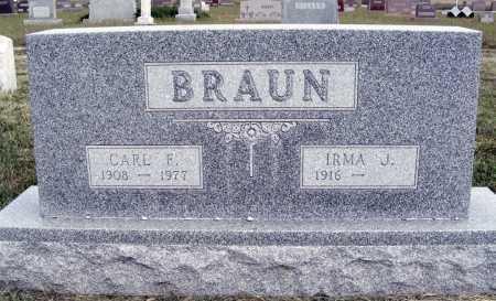 BRAUN, CARL F. - Frontier County, Nebraska   CARL F. BRAUN - Nebraska Gravestone Photos