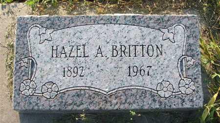 TILLOTSON BRITTON, HAZEL A. - Frontier County, Nebraska | HAZEL A. TILLOTSON BRITTON - Nebraska Gravestone Photos