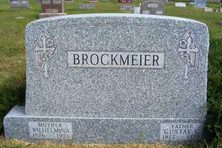 BROCKMEIER, GUSTAV C. - Frontier County, Nebraska | GUSTAV C. BROCKMEIER - Nebraska Gravestone Photos