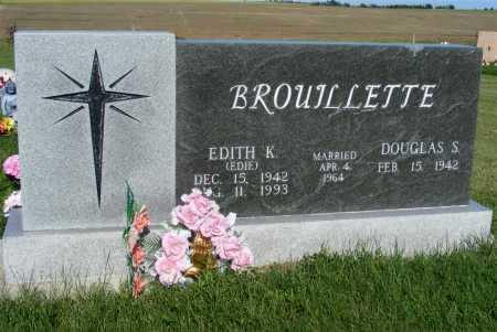 BROUILLETTE, DOUGLAS S. - Frontier County, Nebraska | DOUGLAS S. BROUILLETTE - Nebraska Gravestone Photos